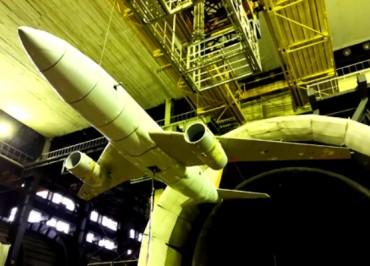 В ЦАГИ прошли испытания на флаттер модели самолета с имитацией работы двигателей. на сайт 2