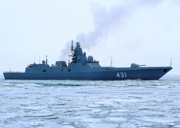 Радиолокационную станцию фрегата «Адмирал флота Касатонов» оборудовали полимерным укрытием