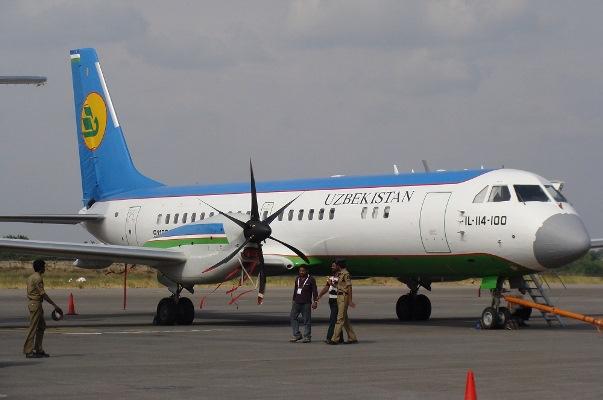 Авиакомпания «Якутия» предложила выкупить в Узбекистане шесть Ил-114-100