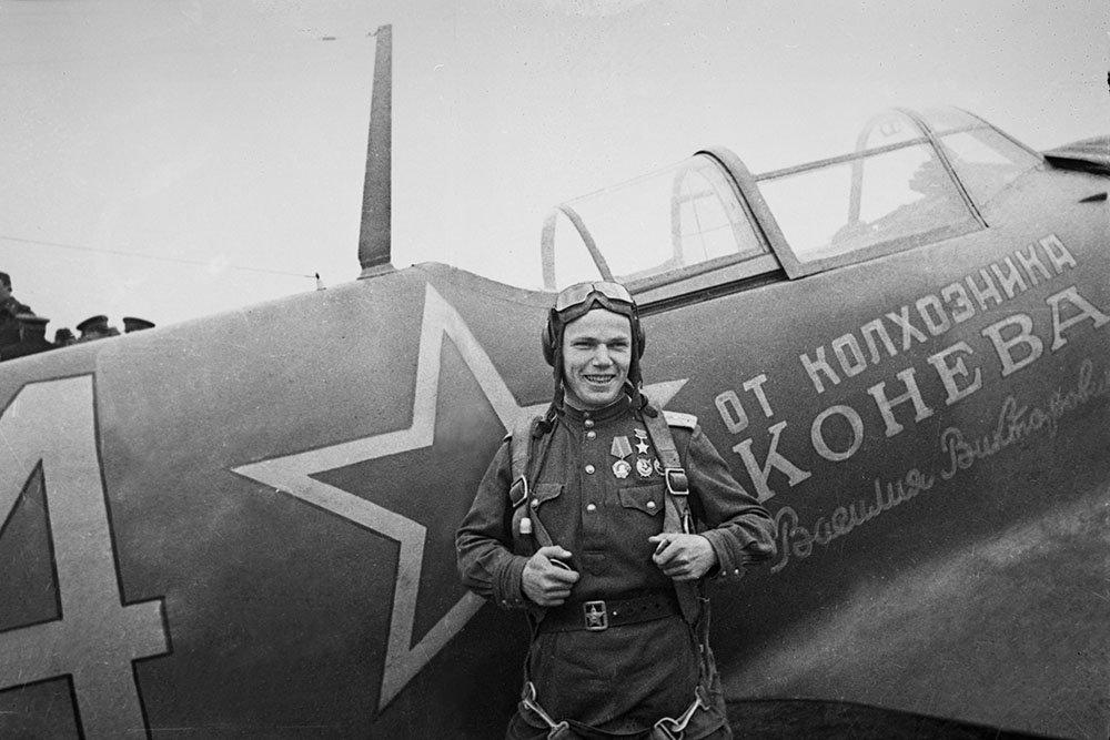 100 лет назад родился летчик Иван Кожедуб