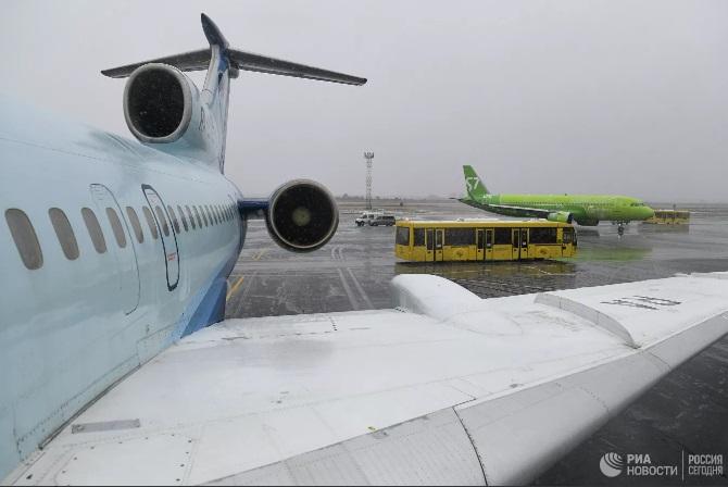 Ту-154 совершил свой последний в России гражданский перелет — видео фото