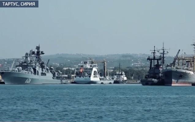 Как появилась и чем живет сейчас база ВМФ РФ в сирийском Тартусе — видео