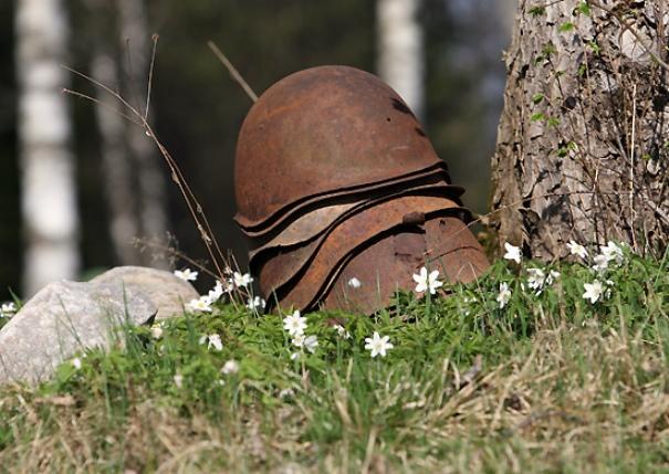 Поисковики соединения ЮВО обнаружили останки погибших воинов Отечественной войны в Волгоградской области