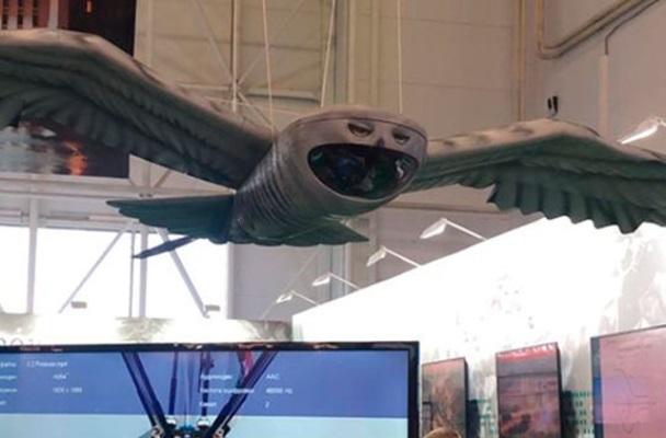 Движение БПЛА «Сова» будет имитировать полет птиц вокруг цели как слежение за добычей