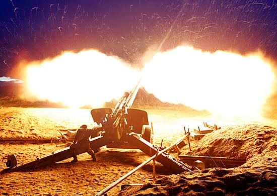На 10 полигонах ЮВО проходит лагерный сбор около 8,5 тысяч артиллеристов