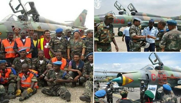Ударные Су-22 продолжают служить в ВВС Анголы