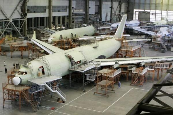 На ВАСО начата работа над воздушным командным пунктом на базе Ил-96-400