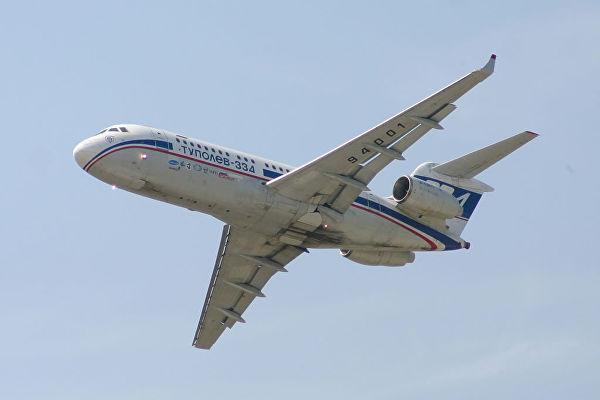 Мантуров о Ту-334 в сравнении с Superjet