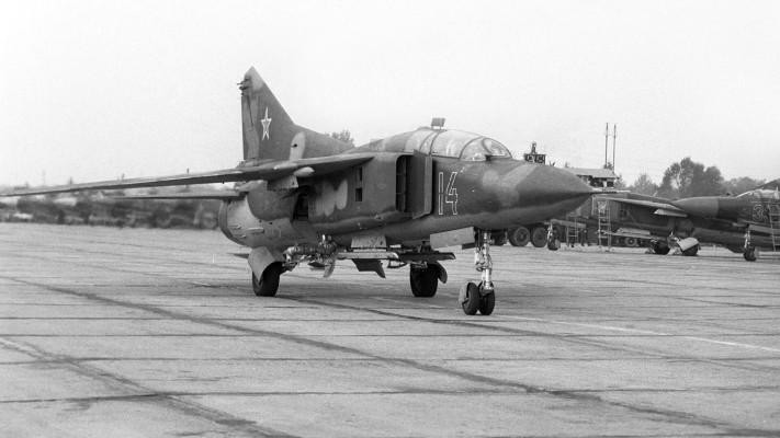 Истребитель МиГ-23 советского производства сбили в Эфиопии