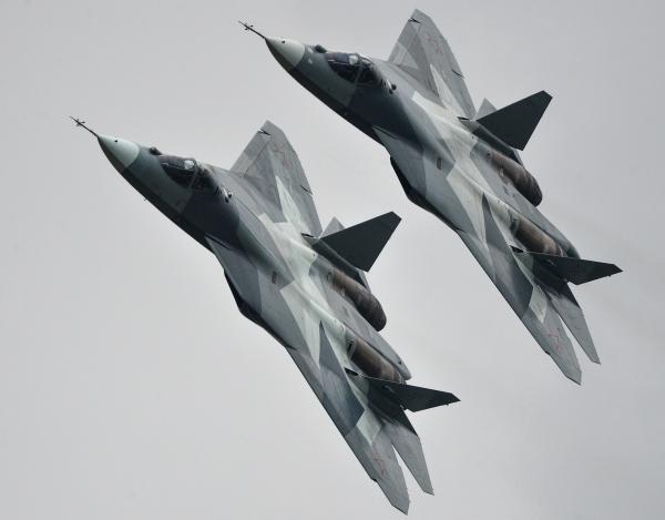 На Су-57 в Сирии испытаны новейшие образцы ракетно-бомбового вооружения
