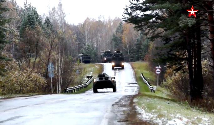 КШУ РВСН в Новосибирской области: более 4000 военнослужащих и около 400 единиц техники — видео