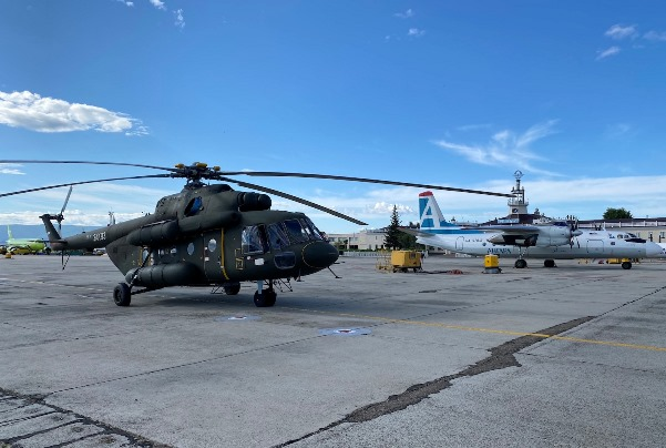 Ми-8МТВ-1 преодолел 8350 км от Казани до Камчатки