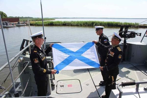 Балтийский флот получил новейшие высокоскоростные десантные катера