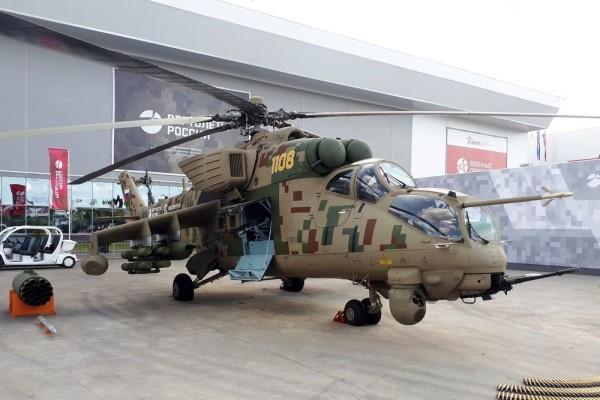 Скоростные вертолеты Ми-35П «Феникс» стали поставляться за рубеж