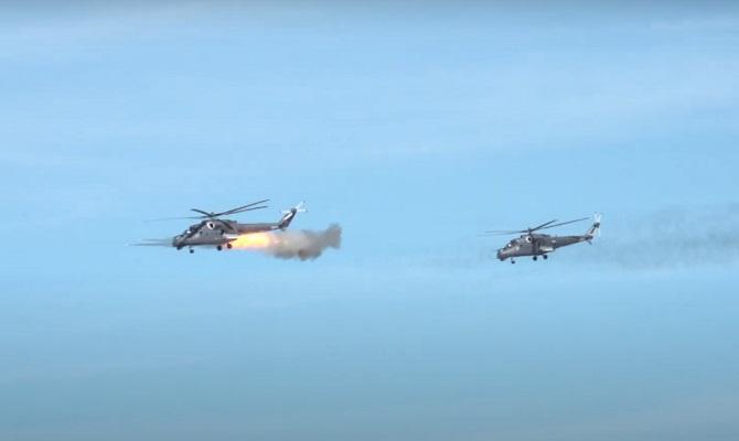Ударные возможности Ми-35М успешно продемонстрировали на маневрах в Сербии — видео