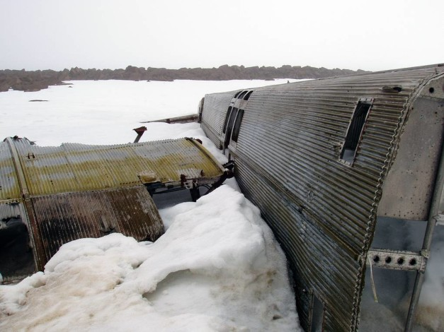 «Михаил Сомов» может забрать самолет АНТ-6А с Земли Франца-Иосифа для реставрации в августе