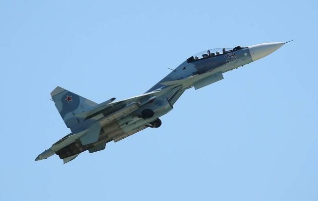 На истребитель Су-30 СМ поставлена система ОСНОД от Су-57