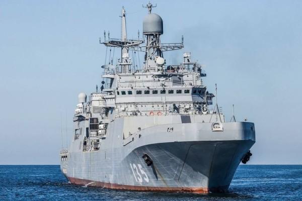 Десантные корабли типа «Иван Грен» увеличат в полтора раза