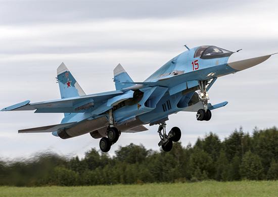 Су-34 смешанной авиационной дивизии ЦВО впервые применят ракеты класса «воздух-воздух»