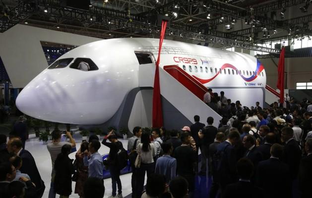 Стал известен вес российско-китайского самолета CR929