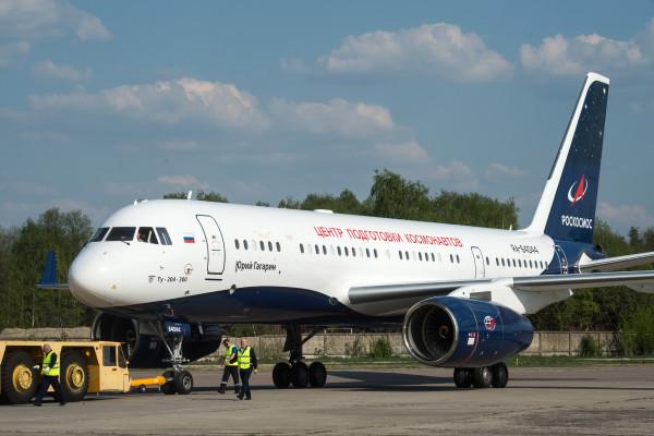 Авиапарк ЦПК пополнился ещё одним самолётом Ту-204-300