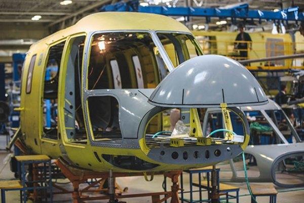 Казанский завод передал санитарной авиации 18 вертолетов