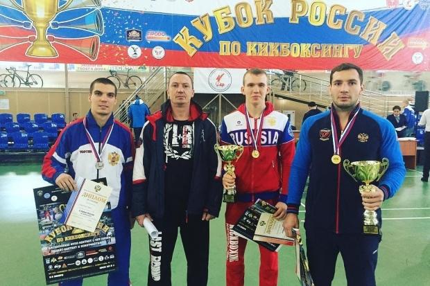 Волгоградские кикбоксеры завоевали на Кубке России три медали