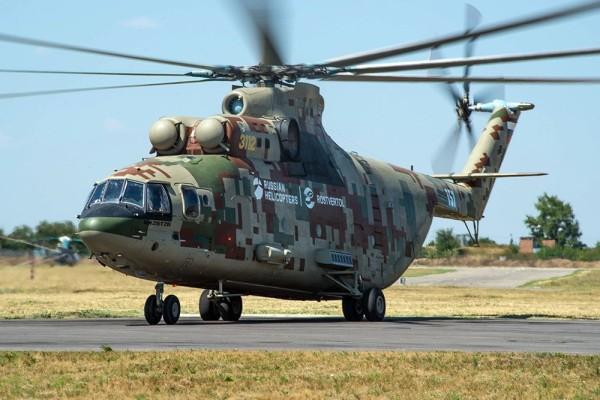 Госиспытания Ми-26Т2В будут проводиться на четырех полигонах