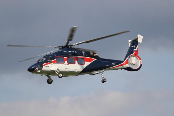 Программа сертификации Ка-62 включает 480 полетов