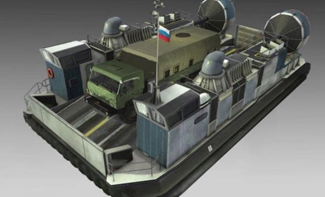 Новейший корабль на воздушной подушке «Хаска-10»: премьера концерна «Калашников»