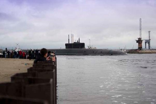 «Князь Владимир» завершил подводные испытания в Белом море — видео