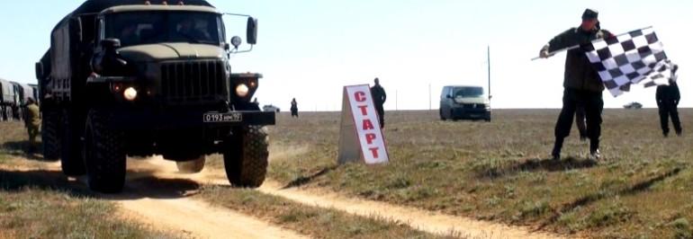 В ЮВО проходит гонка по спецучастку «Военного ралли»