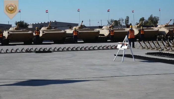Т-72 и БМП-1 замечены в одном строю с М113 и М1А1М Abrams в Ираке