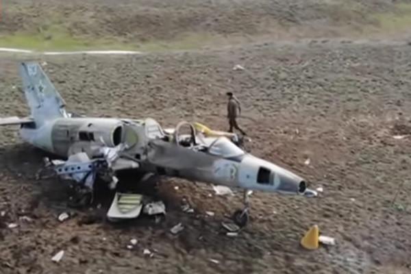Уничтожение беспилотником «Орион» самолета L-39 показали на видео