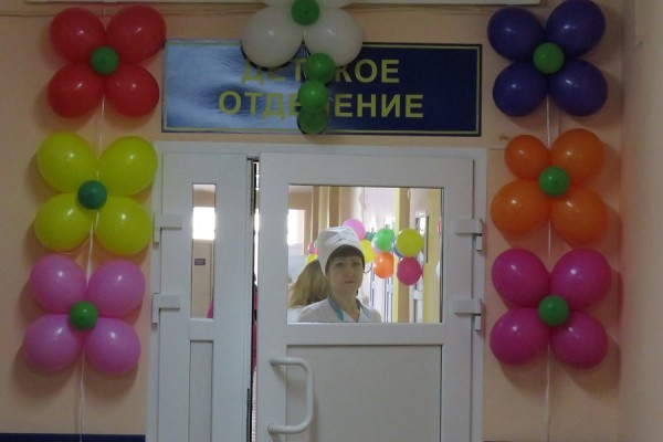 В Урюпинской ЦРБ после капремонта открыты детское и хирургическое отделения