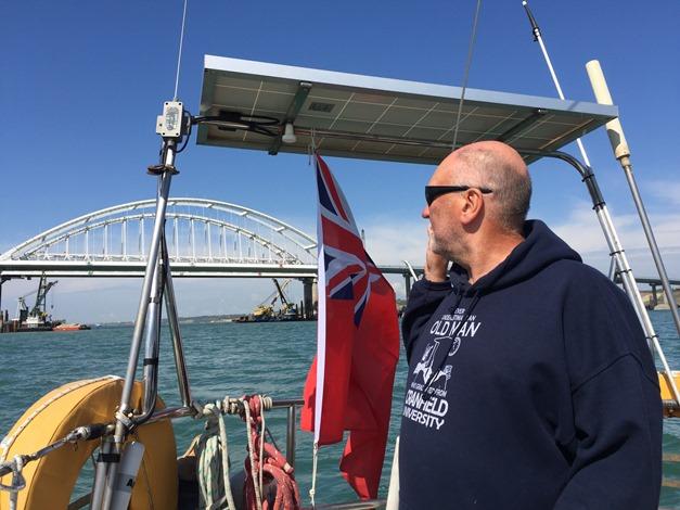 Британская яхта «Sharlyn» пришвартовалась в Волгограде на время ЧМ по футболу