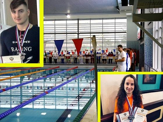 Волгоградские пловцы завоевали шесть медалей чемпионата России