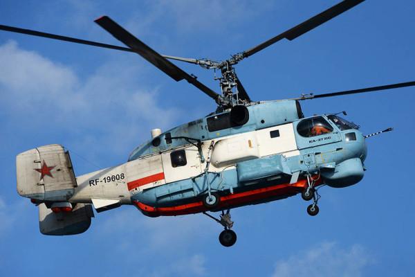 Балтфлот получил модернизированные вертолеты Ка-27М
