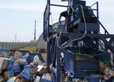 Более 4,5 тыс. бутылок алкоголя уничтожены накануне в Волжском