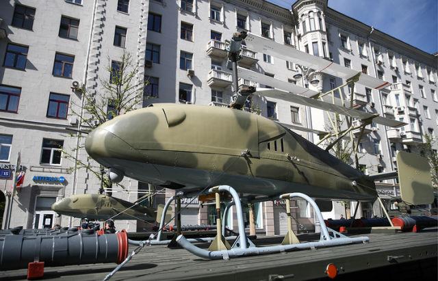 Армия в ближайшее время получит беспилотники вертолетного типа