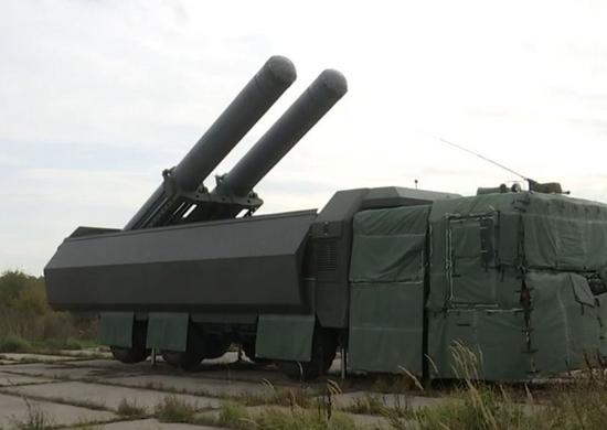 Расчеты БРК «Бастион» Балтийского флота поразили условные цели в море