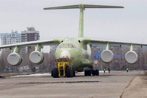 Выполнен полный комплекс работ по производству второго серийного Ил-76-МД-90А