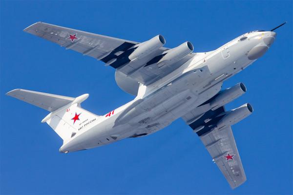 Воздушно-космическим силам России передан шестой модернизированный самолет-локатор А-50У