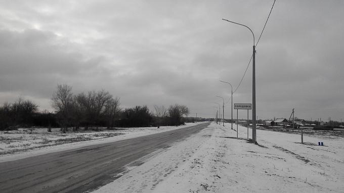 На автодороге «Волжский-Лиман Казенный» в Среднеахтубинском районе введен в эксплуатацию новый участок дороги