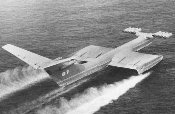 Новый экраноплан сможет сбрасывать 200 тонн воды за то же время, что Ил-76 сбрасывает 40