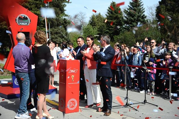 В Волгограде стартовал обратный отсчет до Чемпионата мира по футболу FIFA 2018 в России™
