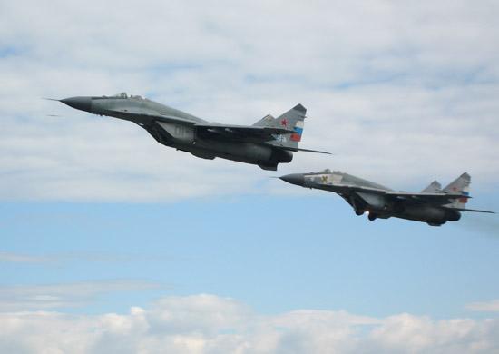 В Астраханской области разбился истребитель МиГ-29