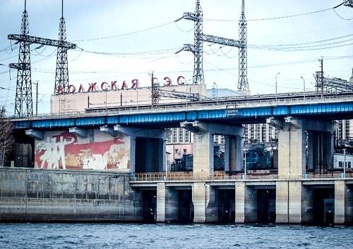 Режим повышенного сброса воды через Волжскую ГЭС продлен