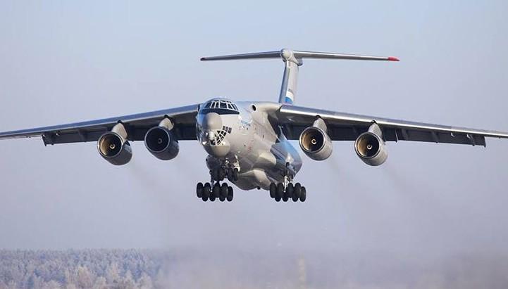 Очередной транспортник Ил-76МД-90А поднялся в небо