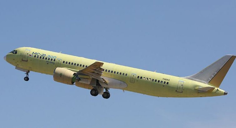 Четвёртый самолёт МС-21 будет оснащён российскими двигателями ПД-14